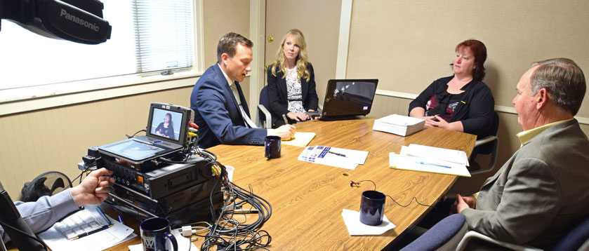 Northwestern Court Reporters Video Deposition